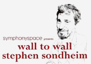 Wall to Wall Stephen Sondheim
